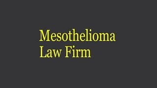 Firm Law Mesothelioma | Frequently asked questions