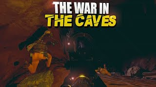 The WAR In The CAVES! (Rust Survival) #70