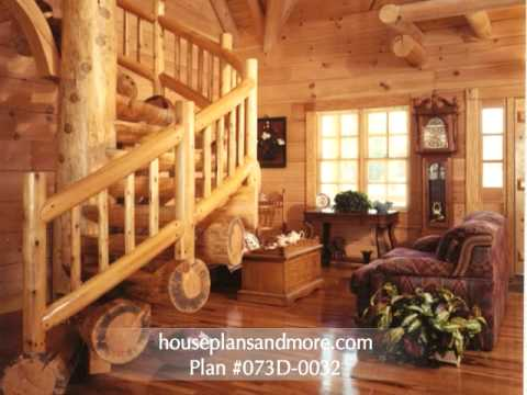 Log Homes Video 2 House Plans and More YouTube