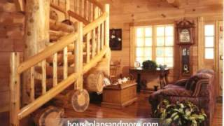 Log Homes Video 2 | House Plans And More