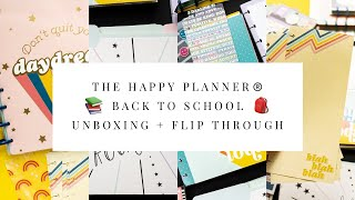 The Happy Planner® Back to School Unboxing Flip Through ASMR Edition