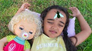 BIA LOBO / BABY ALIVE CLARABELA / QUEREM DORMIR / WANT TO SLEEP