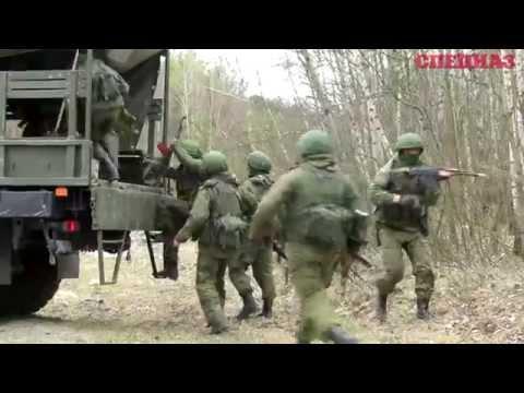 Учения брестских и псковских десантников
