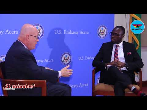 US Ambassador to Ghana, Robert P. Jackson, on '21 minutes with KKB'