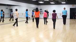 Never Been To Spain - Line Dance (Dance & Walk Through)