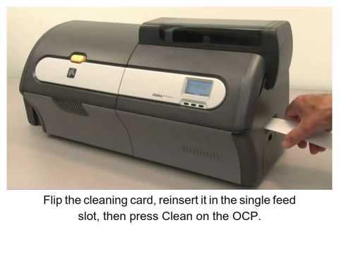 วิธีทำ ZXP Series 7 How-To- Clean the Card Path เครื่องพิมพ์บัตร ไอดี การ์ด
