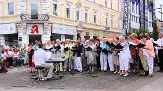 Stadtverband der kulturellen Vereine Saarlouis Sommerkonzert Kleiner Markt Saarlouis