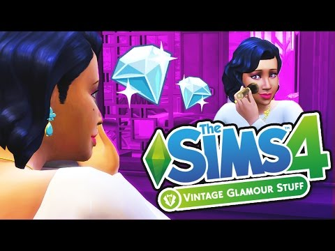 The Sims 4: Vintage Glamour Stuff // First Impression + Over