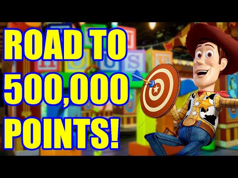 MY FIRST DISNEY VIDEO! | Toy Story Mania! Road to 500,000 Points! | Drew the Disney Dude |