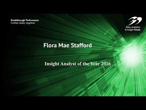 Analyst of the year: Mae Stafford - Allianz
