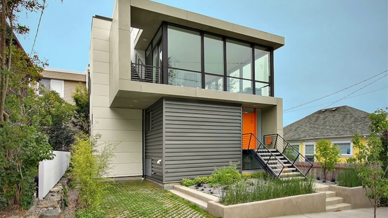 Modern Tiny House Design Ideas 2018