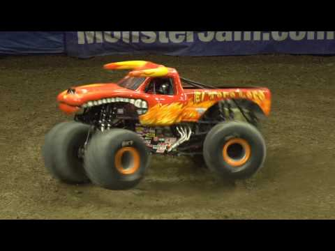 Monster Jam Sacramento Highlights - Triple Threat Series West presented by AMSOIL - Jan 20-22, 2017