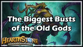 [Hearthstone] The Biggest Busts of the Old Gods