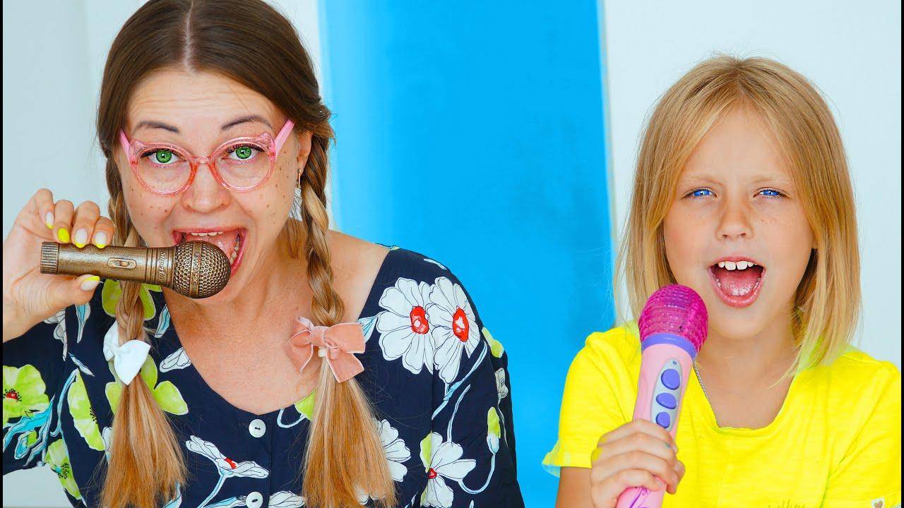 Веселые истории про вредные сладости Марго и сестренка