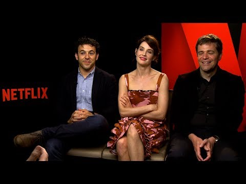 with Fred Savage, Cobie Smulders and Nicholas Stoller on Friends From College