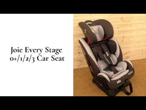 Joie Every Stage 0123 Car Seat Review | BuggyPramReviews