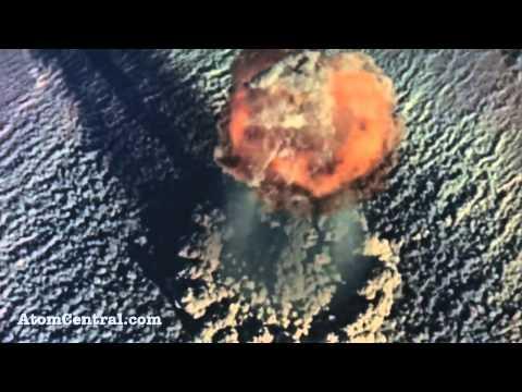 Атомные взрывы бомб в качестве HD