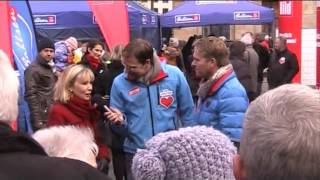 Doris Schröder- Köpf & Hinnerk Baumgarten ( Bahlsen - Keks - Verkauf  2014 )