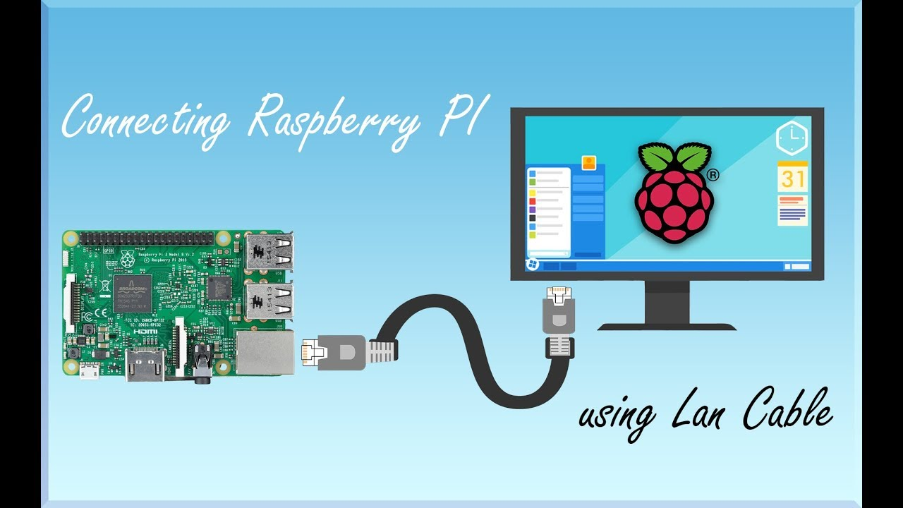 1 How to Connect Raspberry Pi Directly with an Ethernet Cable