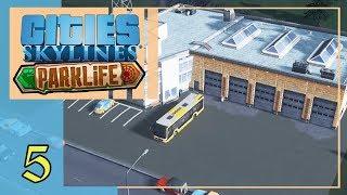 Стимулируем спрос на автобусы | Cities Skylines Parklife #5