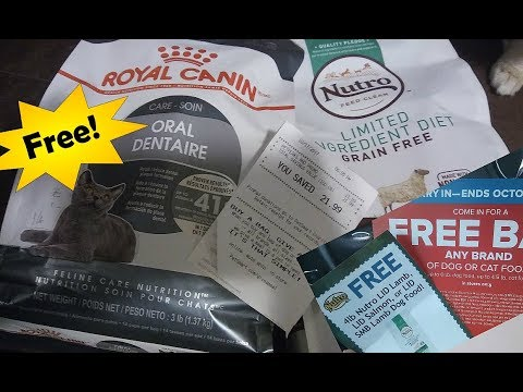 Free with Mailer Coupons @ Petsmart and Pet Life