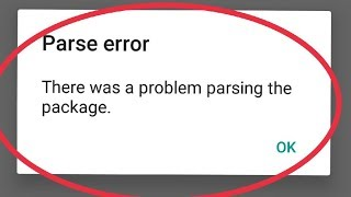 How To Fix There Was a Problem Parsing The Package Problem solve