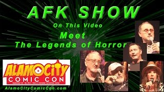 Meet the Legends of Horror! Robert Englund, Linda Blair, Nick Castle, Ken Kirzinger, and John Kassir