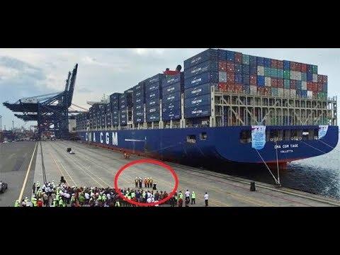 Hebat Presiden Jokowi, Pertama Kali NKRI Ekspor Dengan Kapal 'Raksasa' Ke Amerika