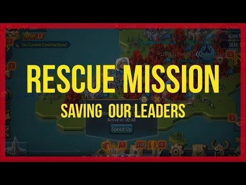 Lords Mobile: Rescue Mission (saving Our Leaders)