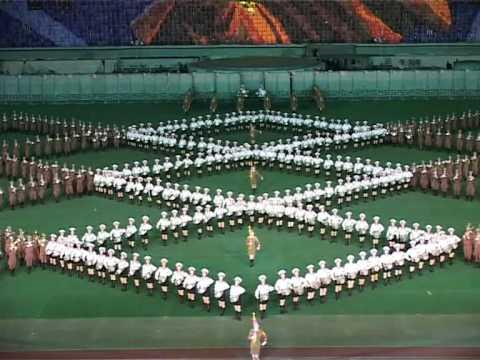 Mass Games of Arirang (North Korean mass performances) 1/2