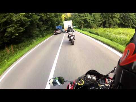 Ride On CBR900RR To Melnik Czech Republic GoPro 2 HD