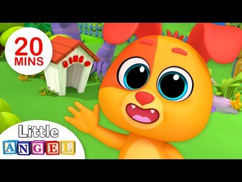 B-I-N-G-O Was His Name-O, Finger Family   Kindergarten Nursery Rhymes by Little Angel