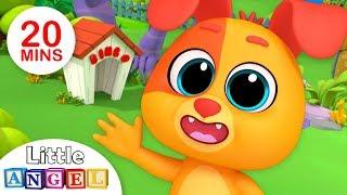 B-I-N-G-O Was His Name-O, Finger Family | Kindergarten Nursery Rhymes by Little Angel