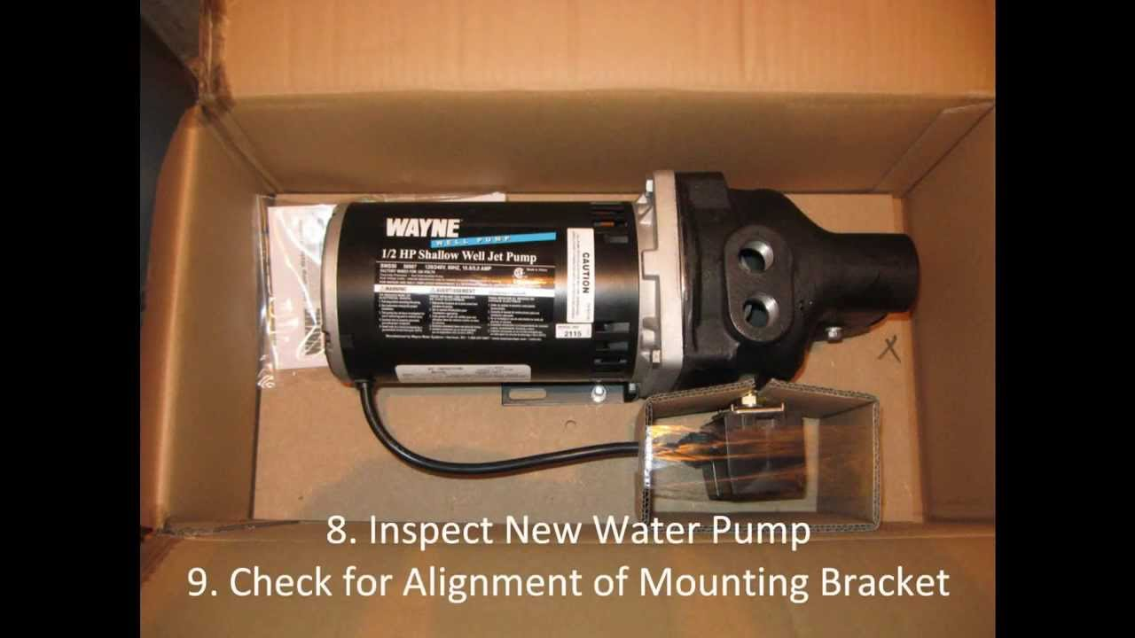 Do It Yourself Shallow Well Jet Pump Replacement Youtube Schematic