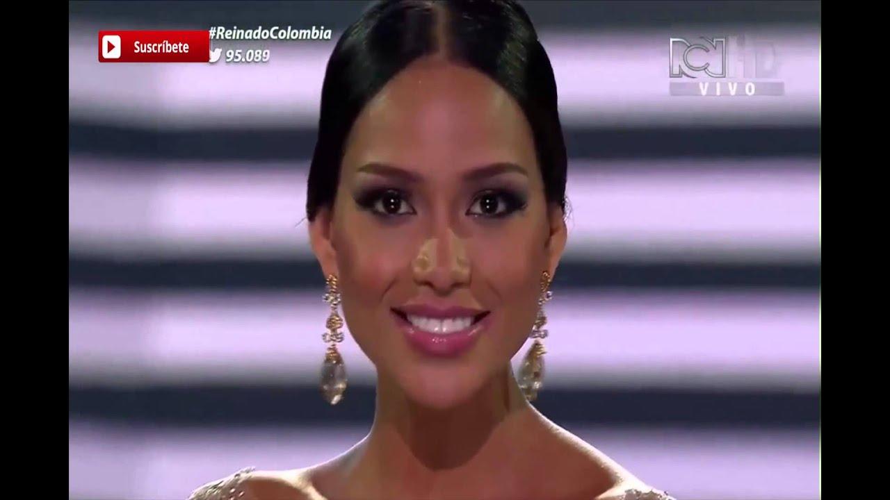 Respuestas de las 5 Finalistas del Concurso Nacional de Belleza Colombia 2015 - 2016