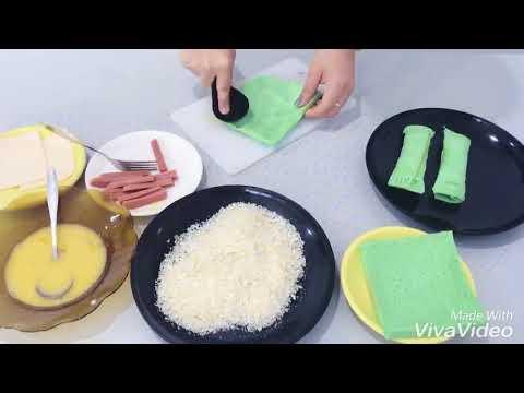 Cara Membuat Roti Gulung Sosis Keju