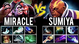 Miracle Pudge vs SumiYa Anti-Mage SECOND TIME EVER In Dota 2 History