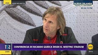 Todo Se Sabe │Declaraciones de Ricardo Gareca, previo al Perú - Nueva Zelanda
