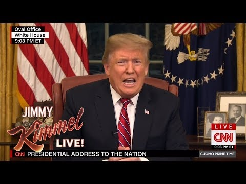 Jimmy Kimmel Responds to Trump's Presidential Address