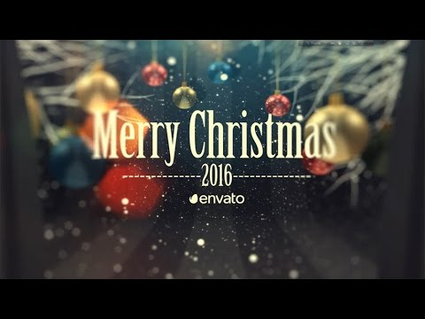 Top 10 After Effects Templates For Christmas # 01| Royalty Free Video