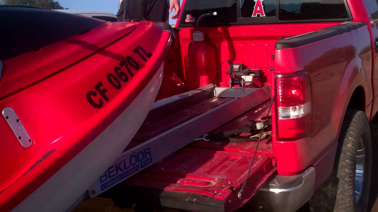 Jet Ski Truck Bed Loader Youtube