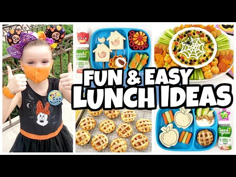 KIDS TAKEOVER Pumpkin Pizza 🎃 Fall FUN Bunches Of Lunches