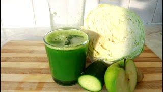 Friday Morning. Cabbage Drink (Healthy ) | Recipes By Chef Ricardo
