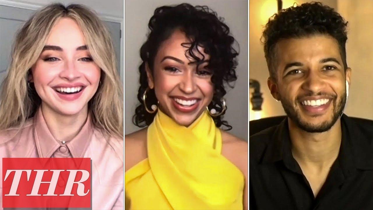 Sabrina Carpenter, Liza Koshy, Jordan Fisher Talk Netflix Dance Movie 'Work It' | THR Interview