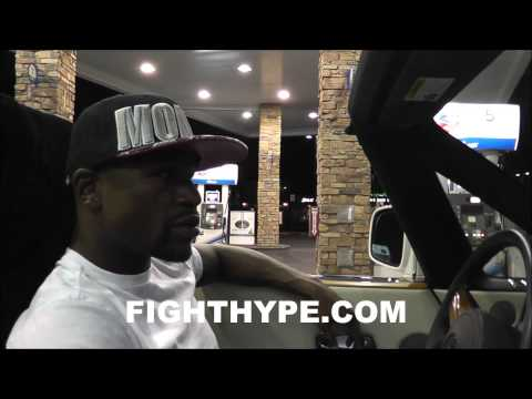 "FLOYD MAYWEATHER ROLLS TO MCDONALD'S FOLLOWING CANELO VICTORY PT. 2: ""CAN'T GO NOWHERE"""