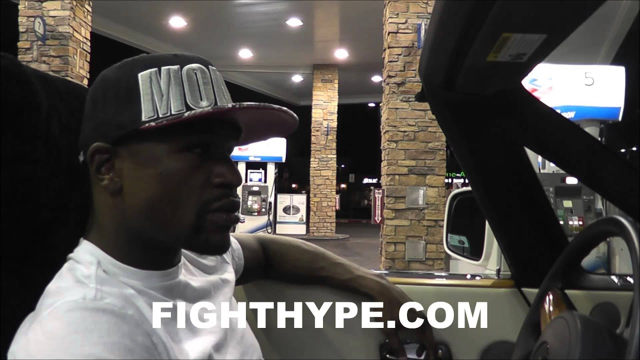 FLOYD MAYWEATHER ROLLS TO MCDONALDS FOLLOWING CANELO VICTORY PT