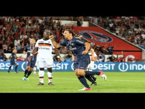 Paris S.G. Vs Bordeaux Gol 26/08/12