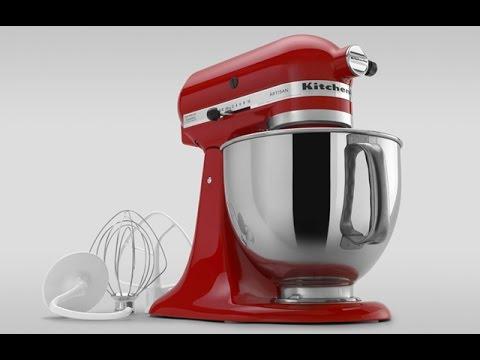 Обзор Kitchenaid Custom Stand Mixer Youtube