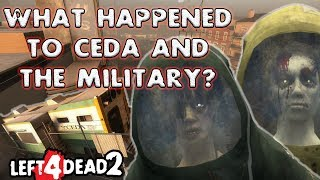What Happened to CEDA and the Military during/after Left 4 Dead?
