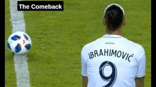 Zlatan Ibrahimovic Comeback Player of the Year 2018
